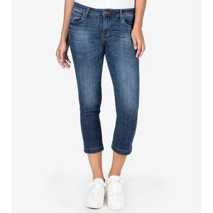 Kut From The Kloth Lauren Crop Straight Leg Jeans